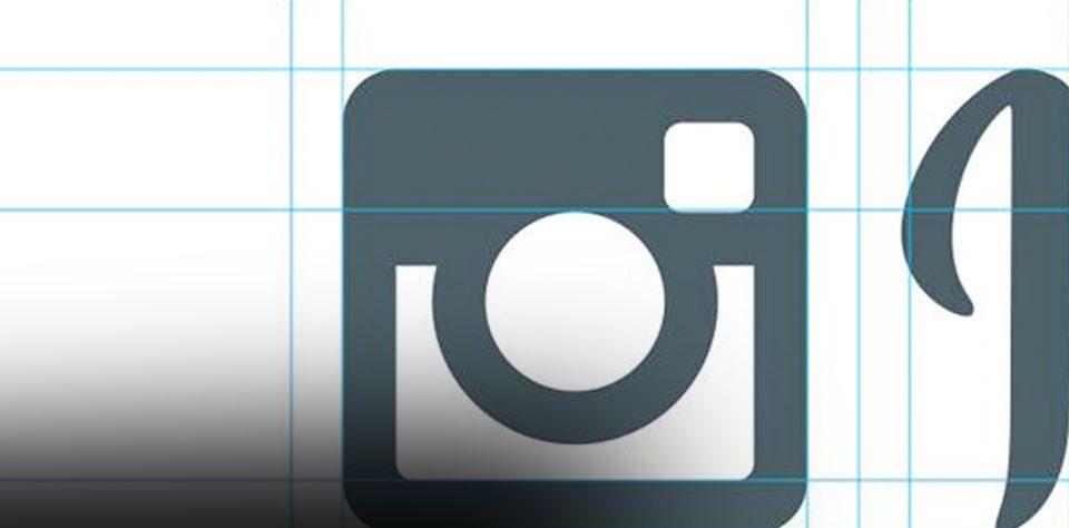 logo instagram blanco rediseño del logotipo