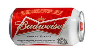 imagen de cerveza budweiser