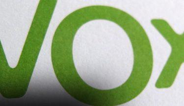 logotipo vox habla imagen de un partido político