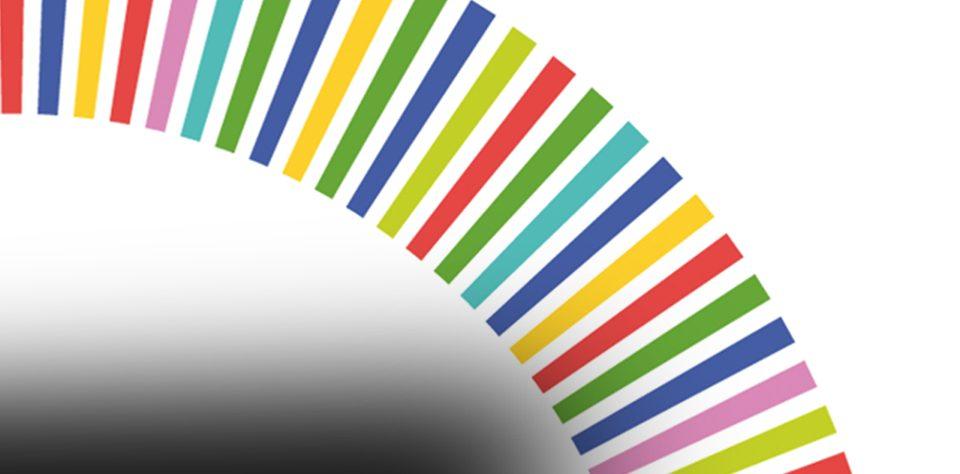 logotipo nos portugal multicolor