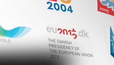 logotipos de las presidencias europeas
