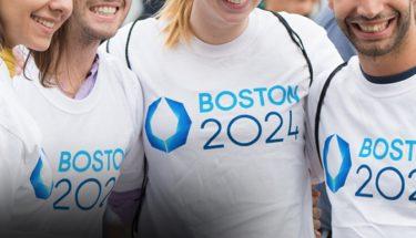 logotipo Boston candidata para las Olimpiadas de 2024