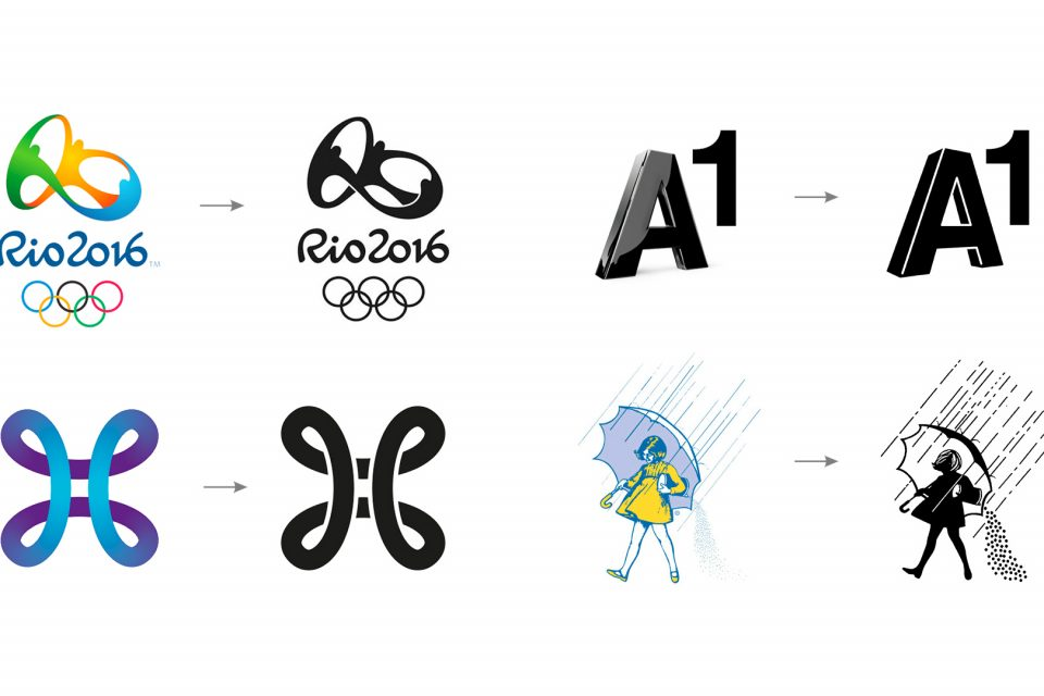Logo monocromático