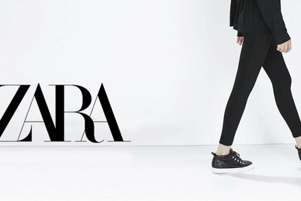Zara presenta un nuevo logo por segunda vez en 44