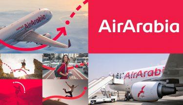 Interbrand rediseña la marca de la aerolínea AirArabia