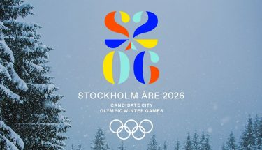 Estocolmo presenta su logo como candidato a las Olimpiadas de Invierno de 2026