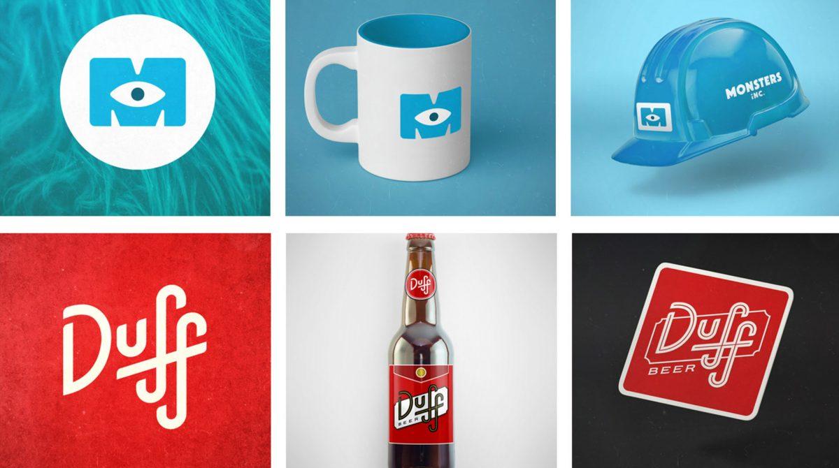 Recuerdas estos logos ficticios de series y pelis Esta agencia los ha redisenado