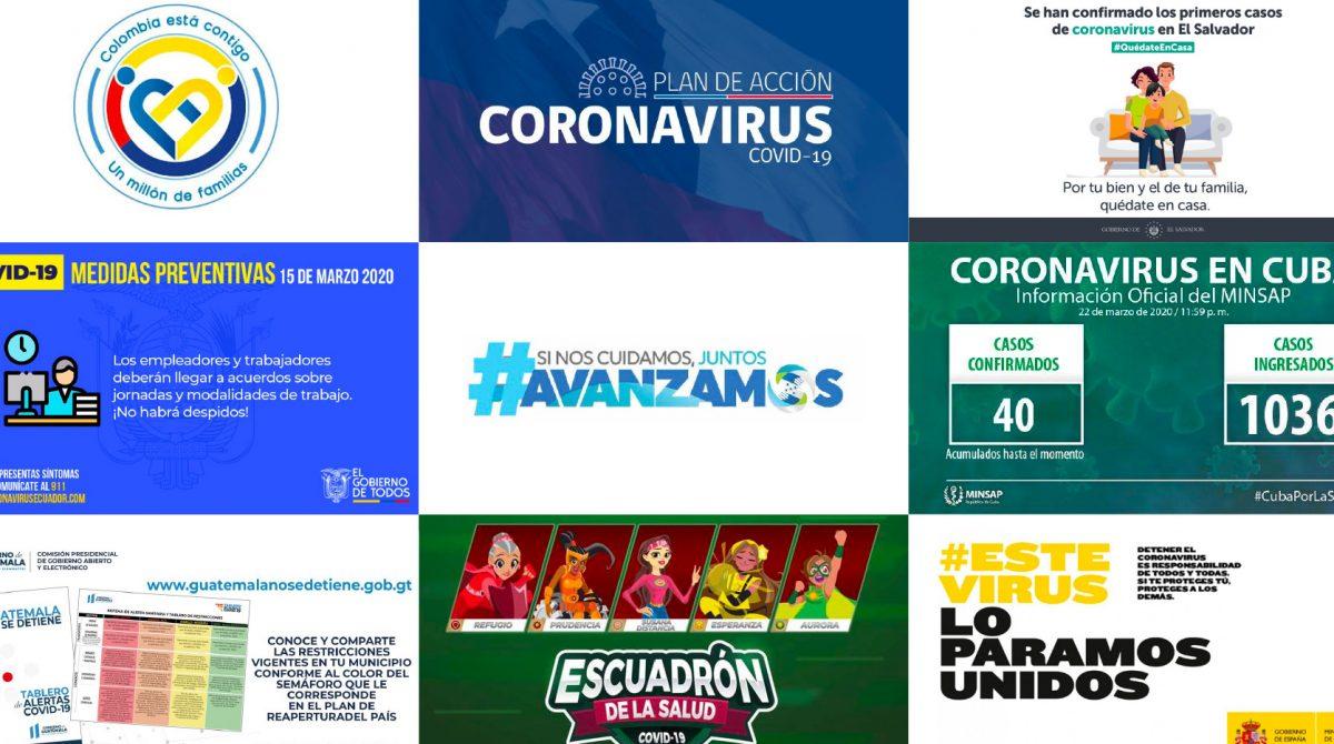 coronavirus diseño latinoamerica