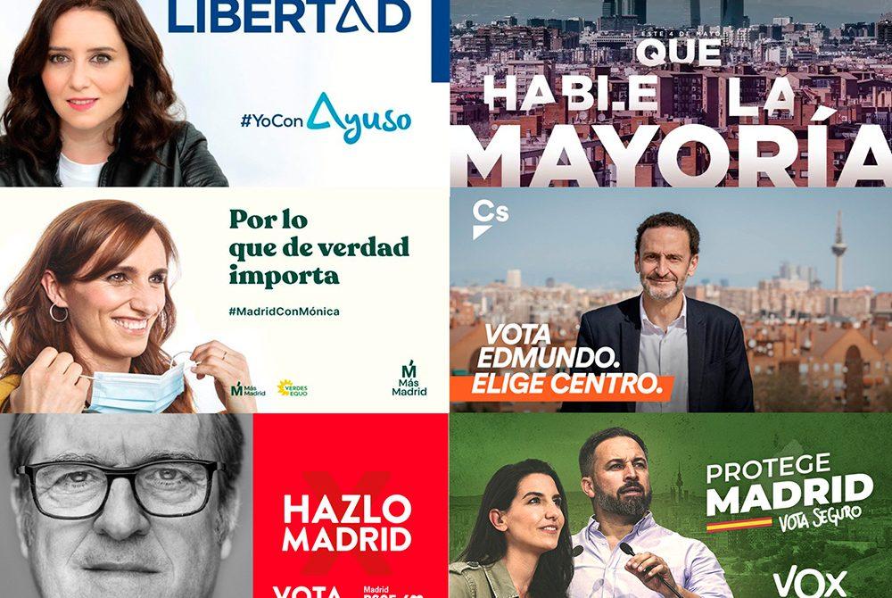 elecciones, políticos, Madrid, campaña