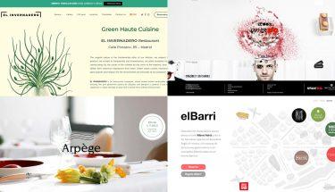 Webs de restaurantes con estrella Michelin
