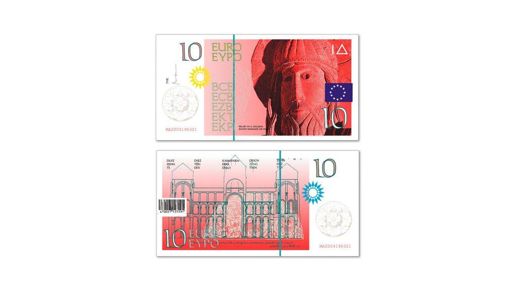 10 euros Cruz Novillo