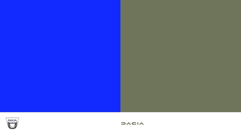 Paleta colores Dacia 2021