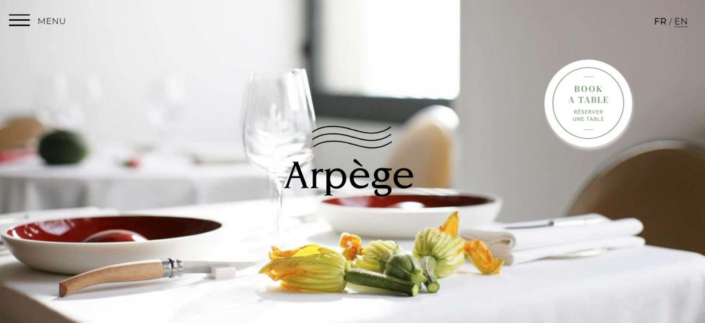 Web de Arpège