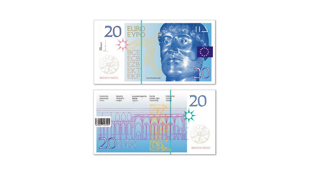20 euros Cruz Novillo
