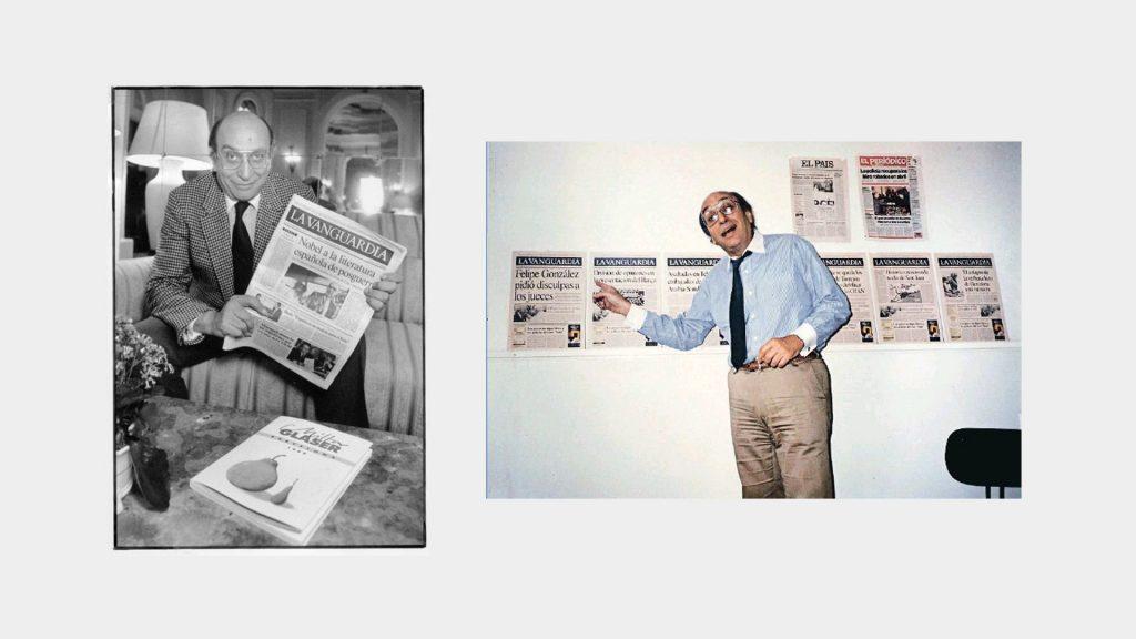 Milton Glaser, La Vanguardia