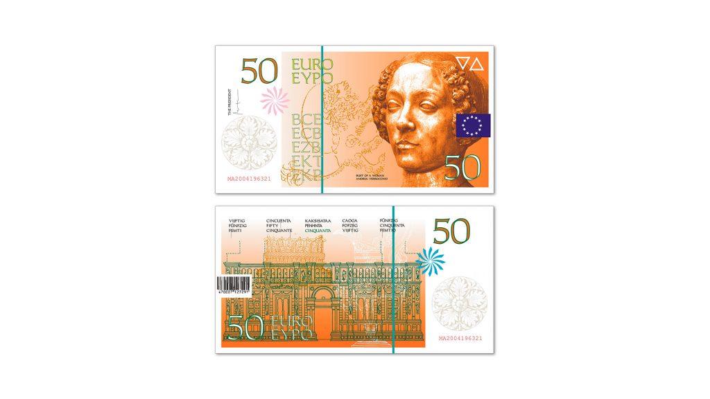 50 euros Cruz Novillo