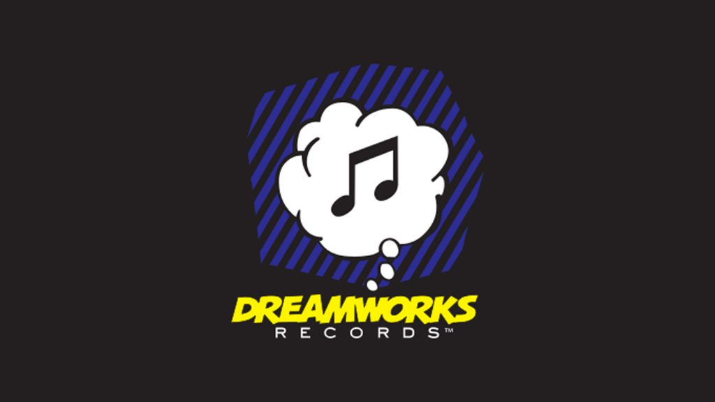 Dreamworks Records logo Roy Lichtenstein