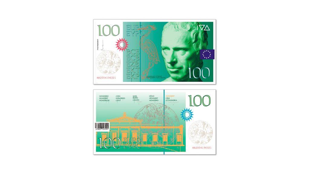 100 euros Cruz Novillo