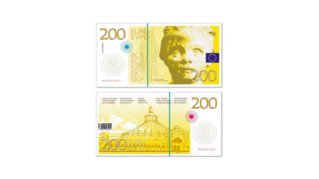 200 euros Cruz Novillo