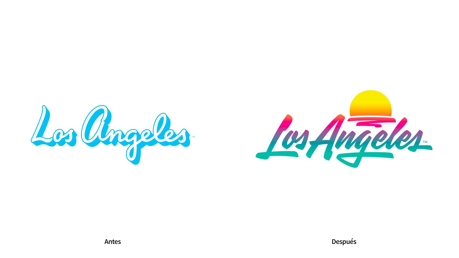 Antes Después de Los Angeles Turismo