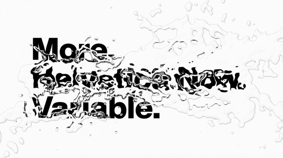 Helvetica Now Variable - More