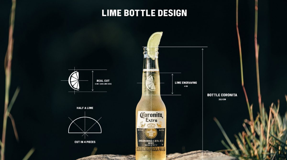Una rodaja de limón, el nuevo icono de la cerveza Corona