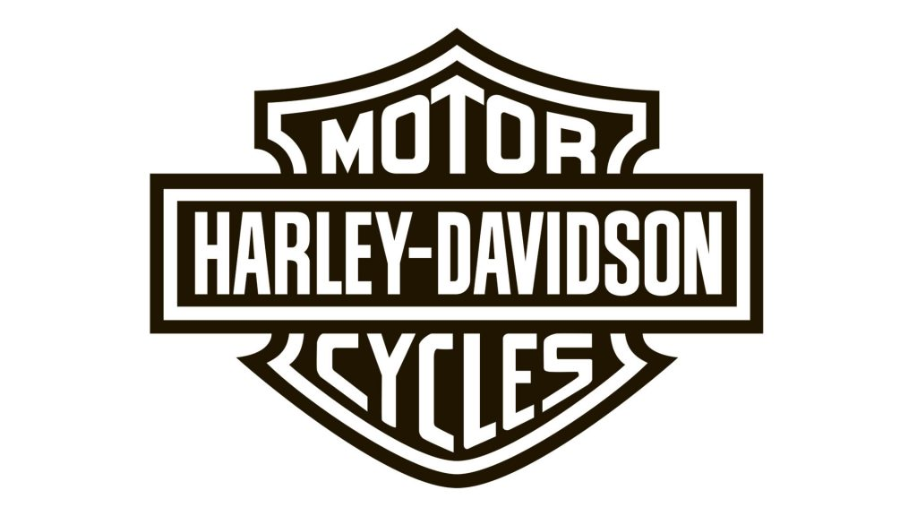 Clásico logotipo bar and shield de Harley-Davidson