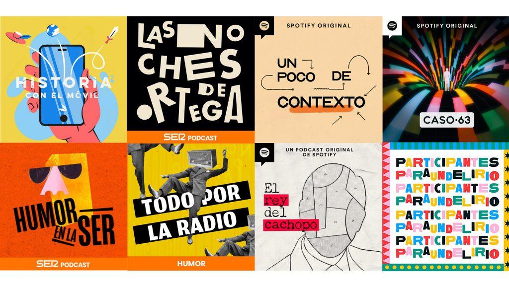 mercado hispano portadas de podcast