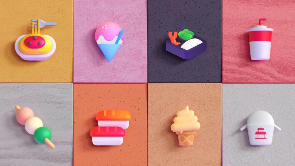nuevos emojis sobre comida