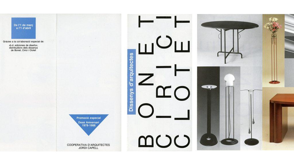 Toni Miserachs dissenys Bonet