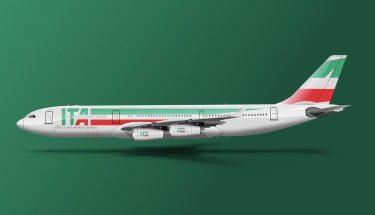 Nuevo avión ITA – Antes Alitalia