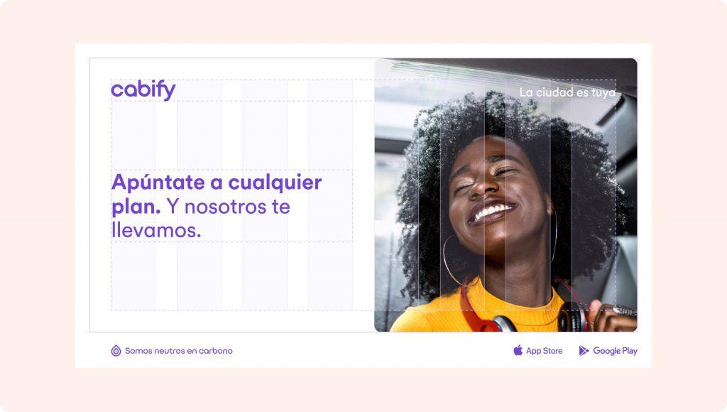 Identidad Cabify para entrevista Natalia Ruda
