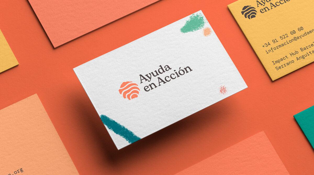 rebranding de Ayuda en Acción