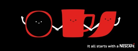 imagen it all starts with Nescafé
