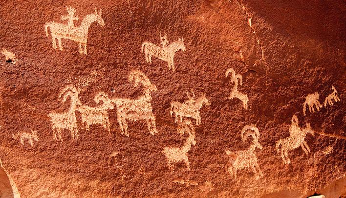 Las pinturas rupestres orígenes del símbolo