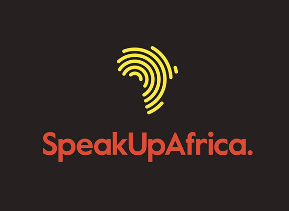 simbolo speak up Africa imagen