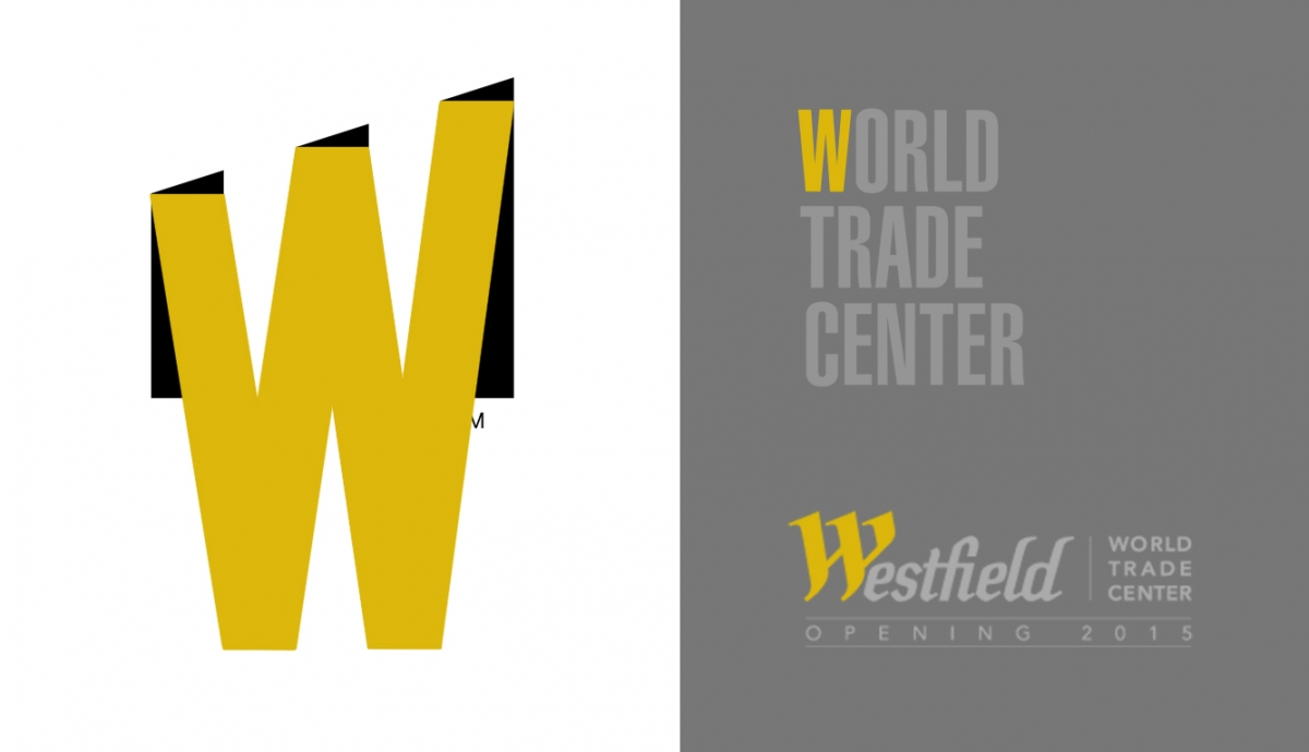 world trade center logo letra W representa el centro comercial Westfield World Trade Center