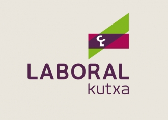 logo de laboral kutxa fusión de caja laboral e Ipar Kutxa
