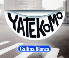 logo de yatekomo gallina blanca nuevo producto