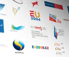 logos de los países de la presidencias europeas