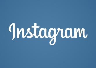 instagram nuevo logo rediseñado en azul y blanco