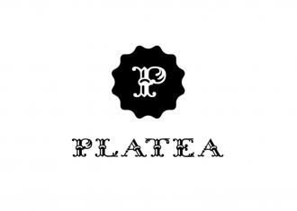 logotipo platea representa nuevo espacio gastronómico en Madrid
