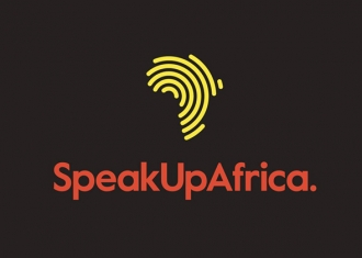 logotipo speak up africa