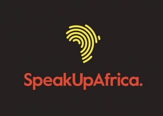logotipo speak up africa