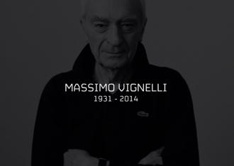 imagen de Massimo Vignelli nació en 1931 y murió en 2014