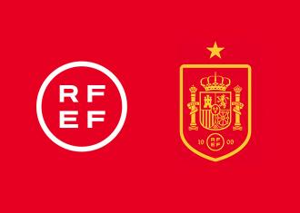 fútbol, rfef, españa, identidad, escudo, logo, deporte
