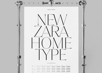 branding, tipografía, identidad tipográfica, sans serif, sistema tipográfico, tipografía display, identidad corporativa, Zara, Zara Home