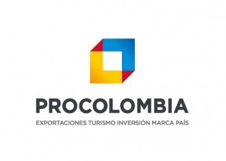 logo procolombia exportaciones turismo en inversión de la marca país de Colombia